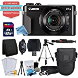 Canon PowerShot G7 X Mark II Digital Camera + 32GB Memory Card + Point & Shoot Camera Case + Full Tripod + Card Reader & DigitalAndMore Free Deluxe Accessory Kit Bundle (Cyber Monday Deal!)