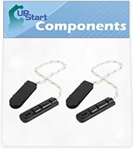 2-Pack 4933DD3001B Dishwasher Door Cable Replacement for LG LDF7774ST Dishwasher - Compatible with AP4511304 Door Hinge Cable Assembly