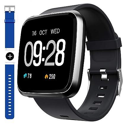 Amazon.com: Reloj inteligente, deportivo, resistente al agua ...