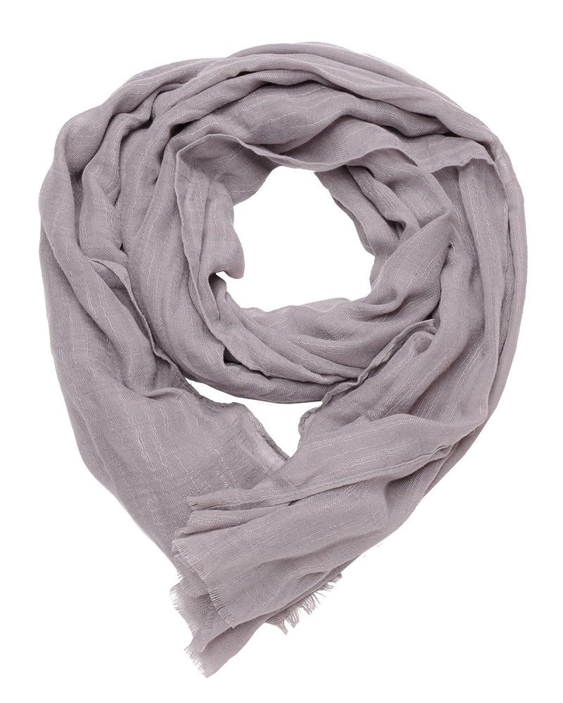 ImiLoa basic Tuch, grau, Sommer Tuch, leichtes Tuch, Strand tuch, leichter Schal, Leinen Look