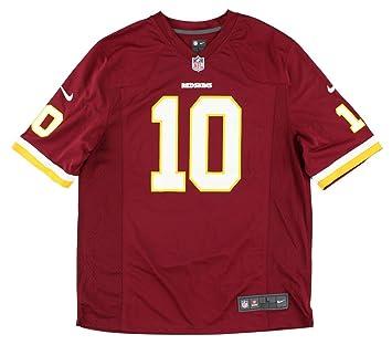 93aaf39c8eb Robert Griffin III Jersey: Home Burgundy Men's Game Nike Washington  Redskins Jersey (Small)
