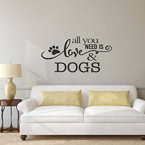 sticker wall art Pet Love Decal