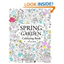 Spring Garden: Colouring Book