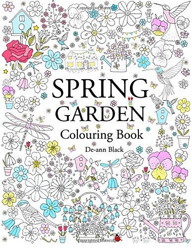 spring garden colouring book de ann black 9781908072818 amazoncom books - Colouring In Book