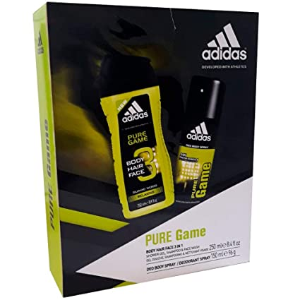 Estuche Adidas Pure Game Gel + Desodorante: Amazon.es: Belleza