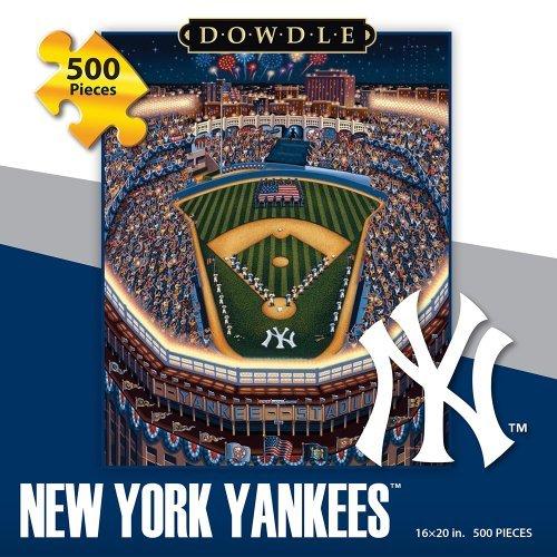 Jigsaw Puzzle - New York Yankees 500 Pc By Dowdle Folk (Mlb Team Message Fan)
