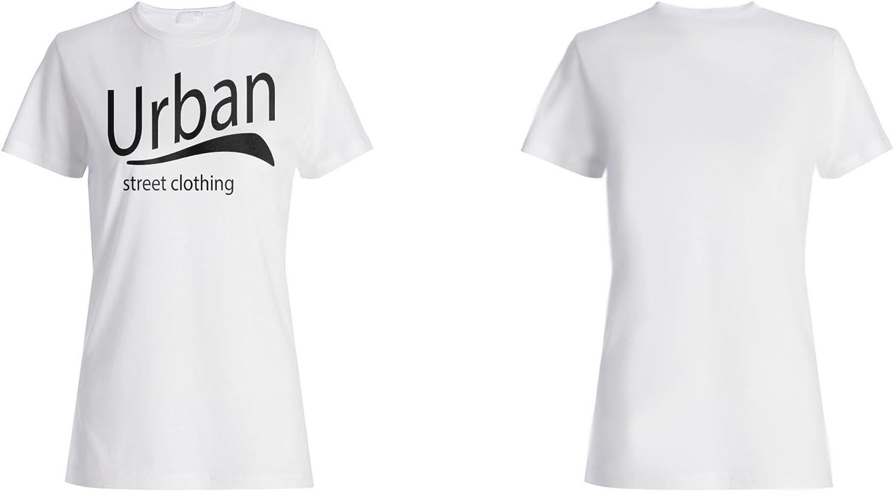 Calle Urbana Ropa Camiseta de Las Mujeres l970f: Amazon.es: Ropa y accesorios