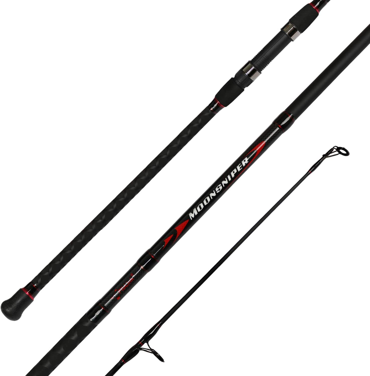 best surf rod: Fiblink Surf Spinning Fishing Rod