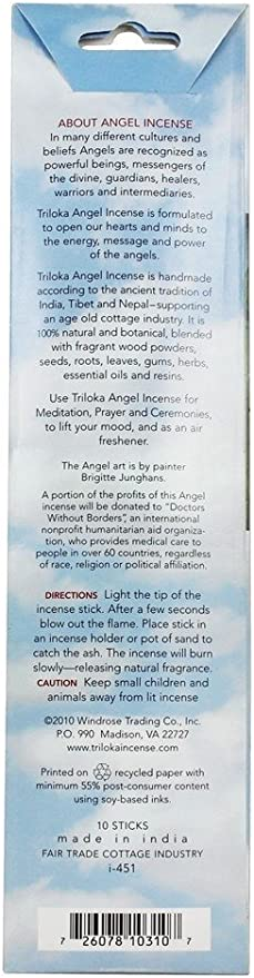 1 EA na Triloka Incense Angel Awakening