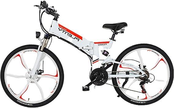 HAOYF Bicicletas Eléctricas Plegables para Adultos, 24