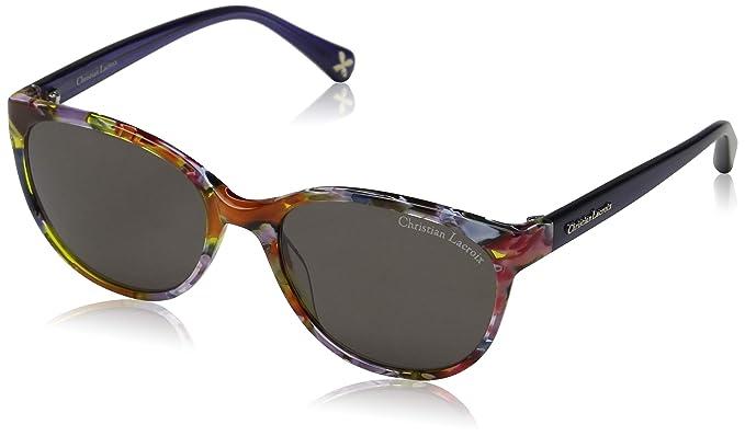 Christian Lacroix CL Gafas de Sol, Azul (Multi Navy/Grey ...