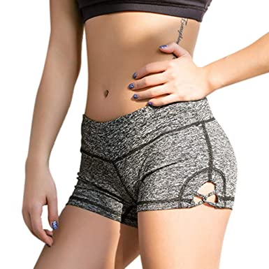Pantalones Mujer Deporte Cortos Verano Running Yoga PAOLIAN ...