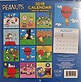 Peanuts 2019 Wall Calendar 12 Month New Sealed 10 X 20