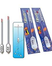 Flotadores alimentadores de pesca Stonfo, ajustable y duro cebo liberador de municiones de gusano larva