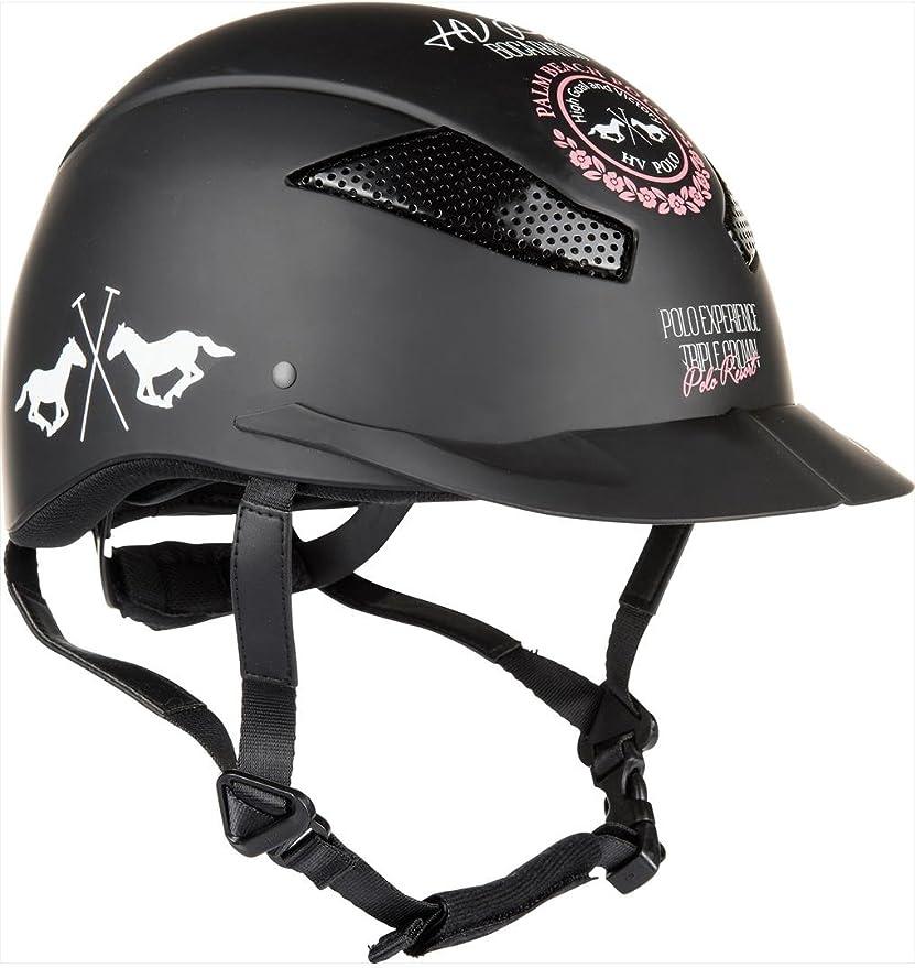 HV Polo – Casco de equitación Aberdeen, S50 – 53, color negro ...