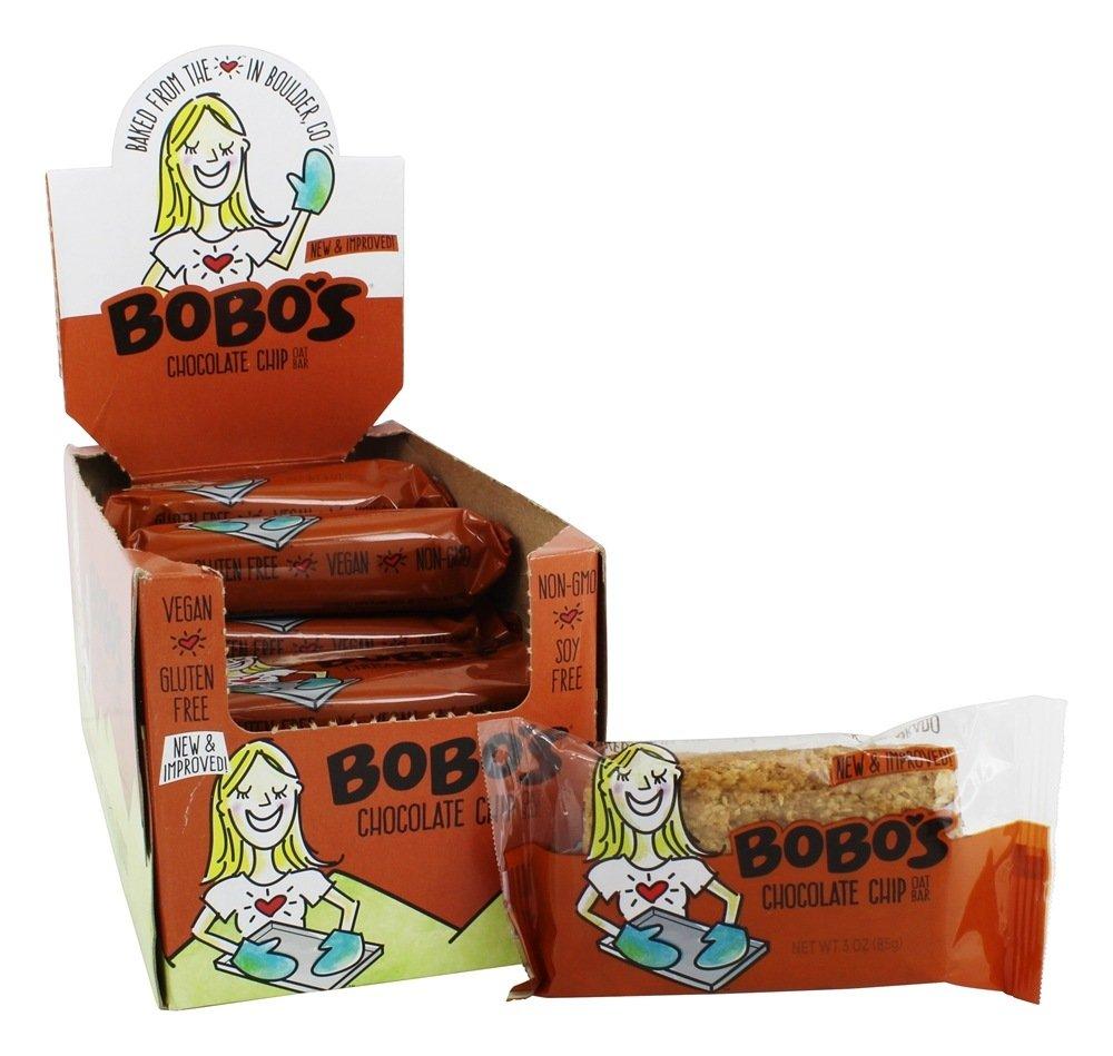 BOBOS OAT BARS Chocolate Chip Oat Bar 12Ct, 3 OZ by Bobo's Oat Bars (Image #1)