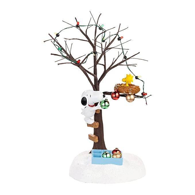 Department 56 Charlie Brown Peanuts Sharing Christmas Spirt accessory