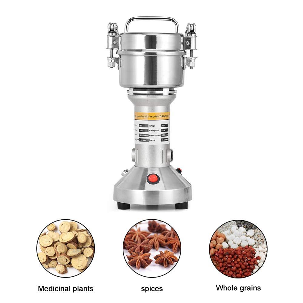 Giraffe-X 150g Electric Herb Grain Spice Grinder Cereal Mill Grinder Flour Powder Machine,Portable High Speed