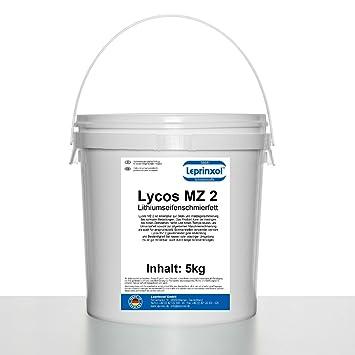 5 kg lycos MZ 2 litio multiusos Cubo de grasa para alta calidad de largo tiempo ...
