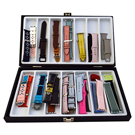 Amazon.com: Xchangeables Caja de almacenamiento de cuero ...