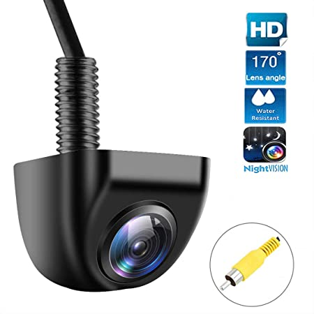 Car Backup Camera, VoWin HD Super Wide Viewing Angle Night Vision Metal IP69K Waterproof Car Auto Rear View Camera Parking Camera for Car Truck RV Mini-Van