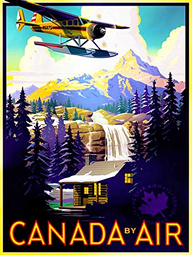 travel-tourism-transport-canada-air-plane-forest-mountain-print-poster-bb9980