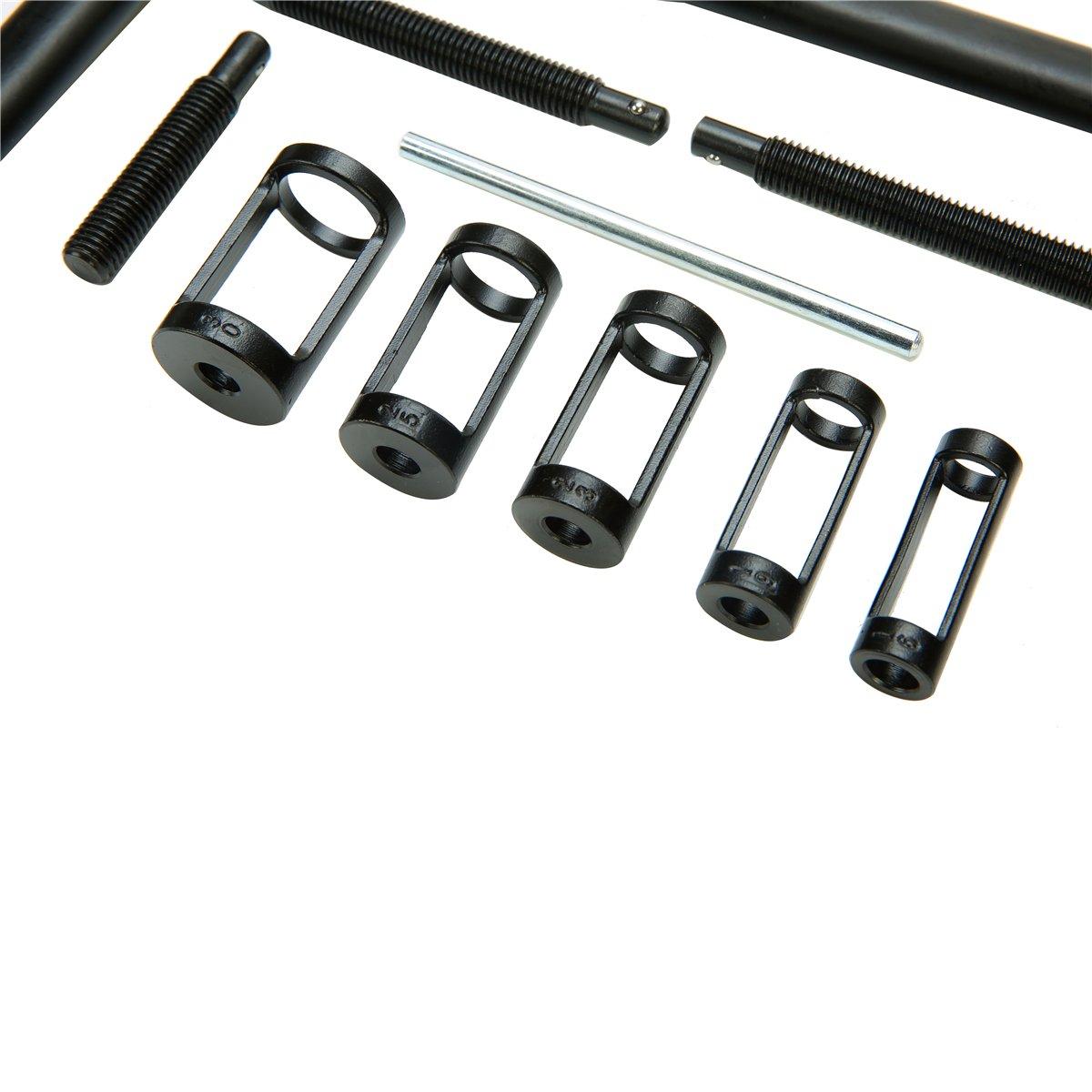 8milelake AUTO Solid Valve Spring Compressor Automotive Tool Set Repair Tool Kit by 8MILELAE (Image #3)