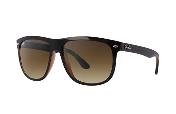 a579d04cc0a Image Unavailable. Image not available for. Color  Ray-Ban RB4147 609585  BLack Frame   Dark Brown Gradient Lens 60mm
