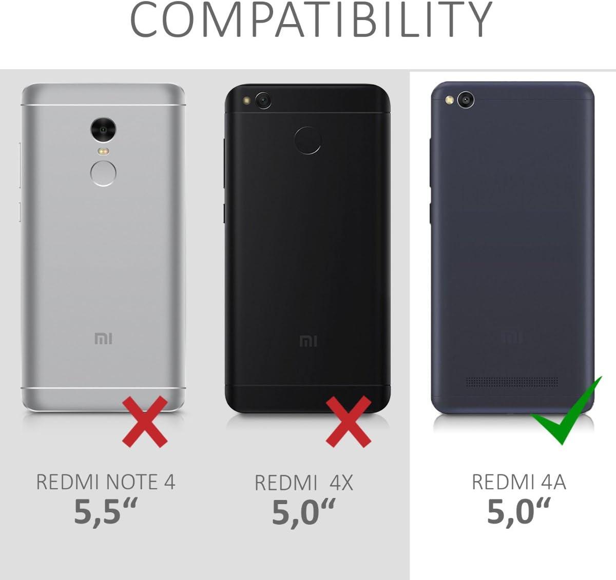 kwmobile Funda compatible con Xiaomi Redmi 4A: Amazon.es: Electrónica