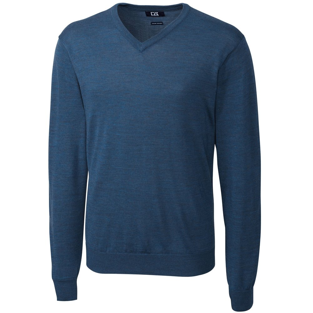 Cutter & Buck Men's Big-Tall Douglas V-Neck Sweater BCS01431