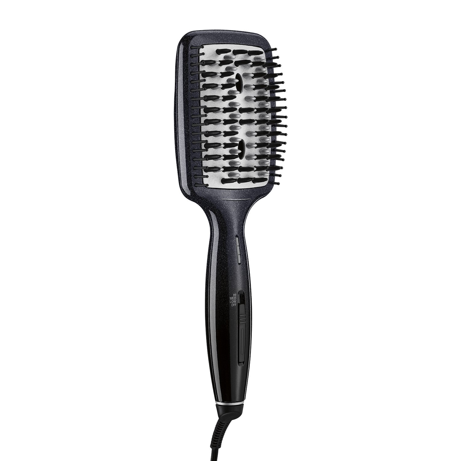 INFINITIPRO BY CONAIR Diamond-Infused Ceramic Smoothing Hot Brush/Straightening Brush; Black by Conair