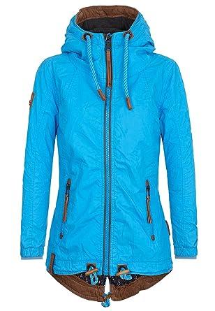 NAKETANO Arsch im Ärmel Jacket for Women Blue