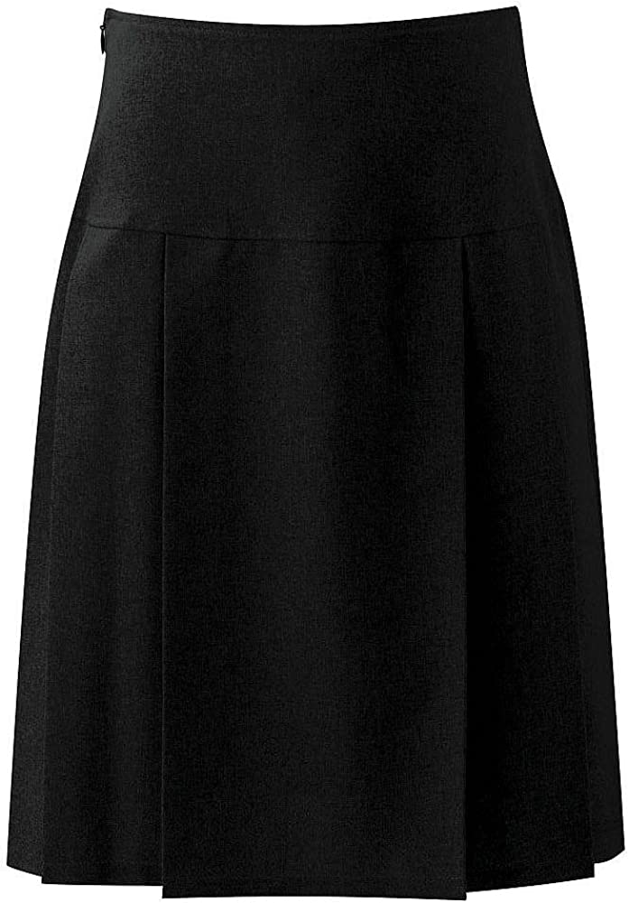 Blue Max Banner Girls Henley Pleated School Skirt
