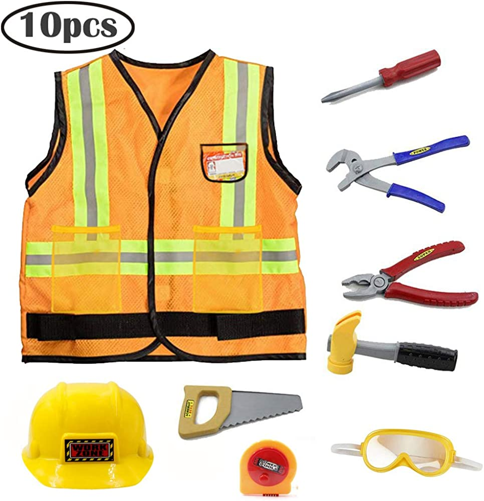 Mizzuco Kids Construction Worker Costume for