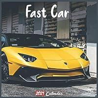 Image for Fast Car 2021 Calendar: Official Fast Car Wall Calendar 2021, 18 Months