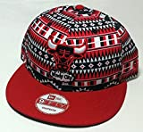 New Era NBA Tri-All Print 9FIFTY Adjustable Snapback Cap, Chicago Bulls