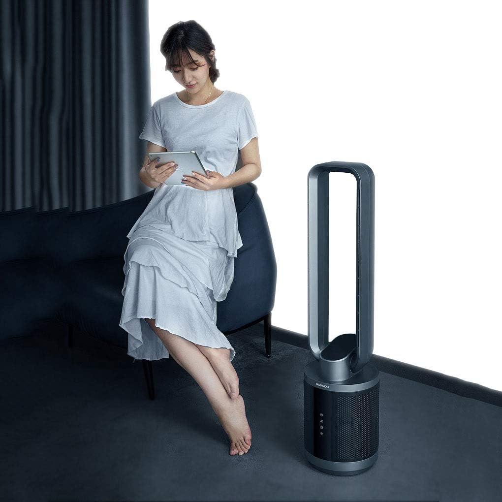 Zzxxo Ventiladores de Torre Digital,Ventilador de Torre Silencioso con tecnología Air Multiplier,Incluye Mando a Distancia. Ventilador de bajo Consumo con función de Temporizador, oscilación de 60°