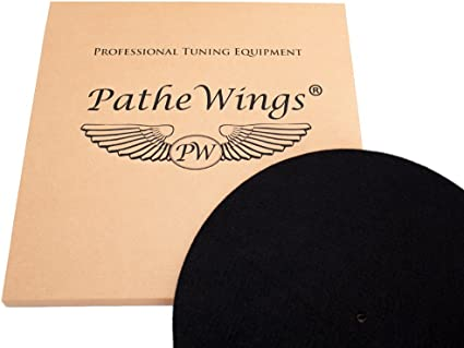 Amazon.com: pathewings Record Mat 3 mm Fieltro & corcho ...