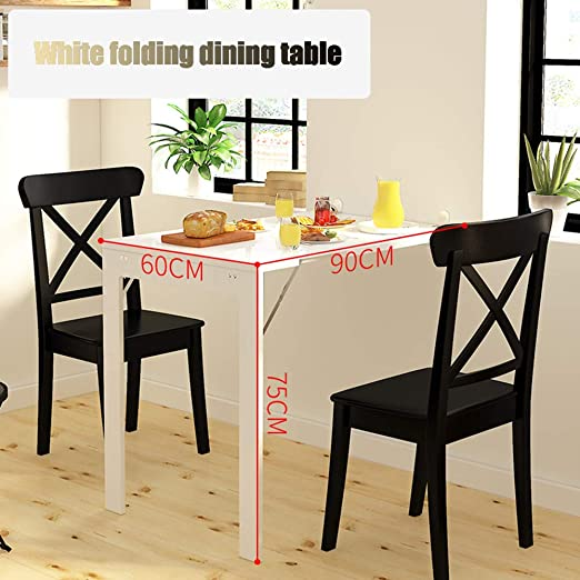Koovin Mesa Plegable De Pared-Mesa De Comedor Invisible, Mesa De ...