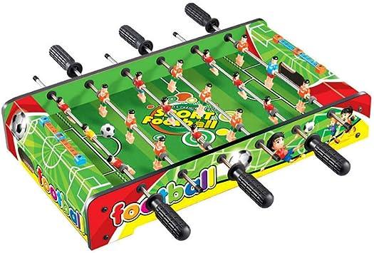 RUIXFFT Juego de fútbol de Mesa, 6 Filas de Mesa de diversión con Patas Mesa de fútbol, Juego de fútbol de Interior al Aire Libre Regalos Juego Familiar Diversión Deportiva, B: Amazon.es: