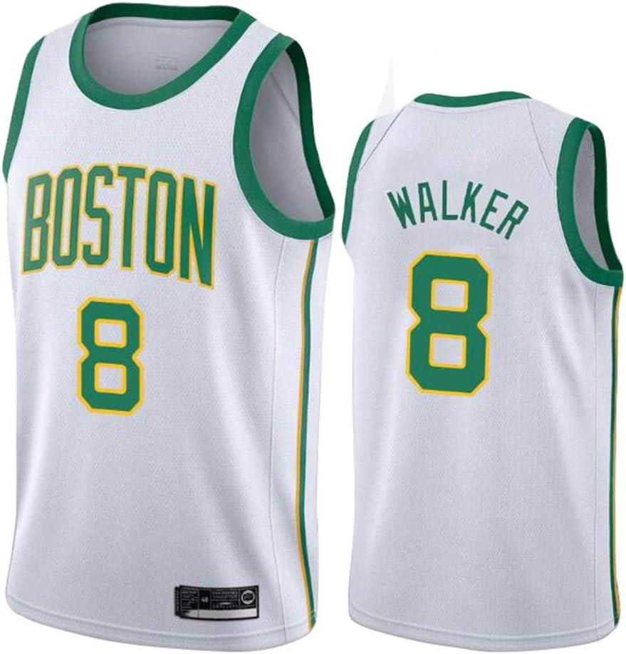 Camiseta de Baloncesto para Hombre Mujer, Boston Celtics 8# Walker ...
