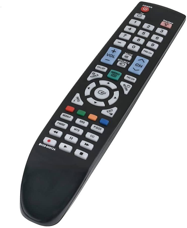 BN59-00852A Replace Remote fit for Samsung LN32B550 LN37B550 LN40B550 LN46B550 LN52B550 LN32B550K1F LN37B550K1F LN46B550K1FXZA LN52B550K1FXZA PN50B50T5F PN58B50T5F PN6B550T2F PN6B590T5F PNB550TF