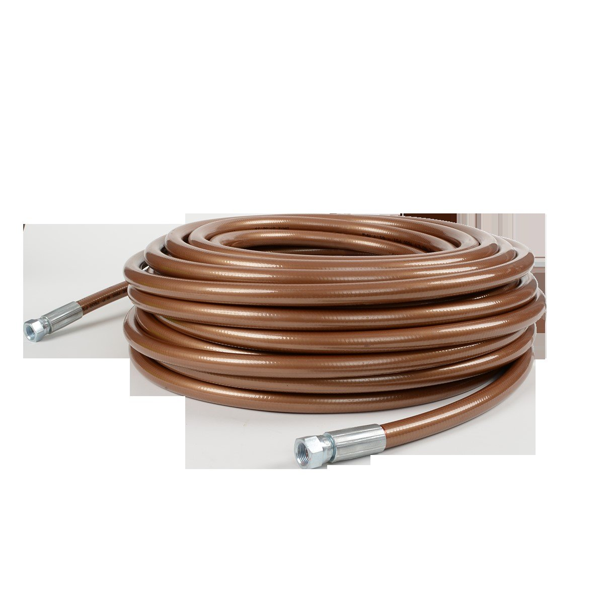 Titan High Pressure 1/4'' x 50' Bronze Airless Paint Spray Hose 7500psi - OEM by Titan