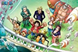 (1000 Pieces) One Piece - Leaving for Fishman Island (50×75cm)
