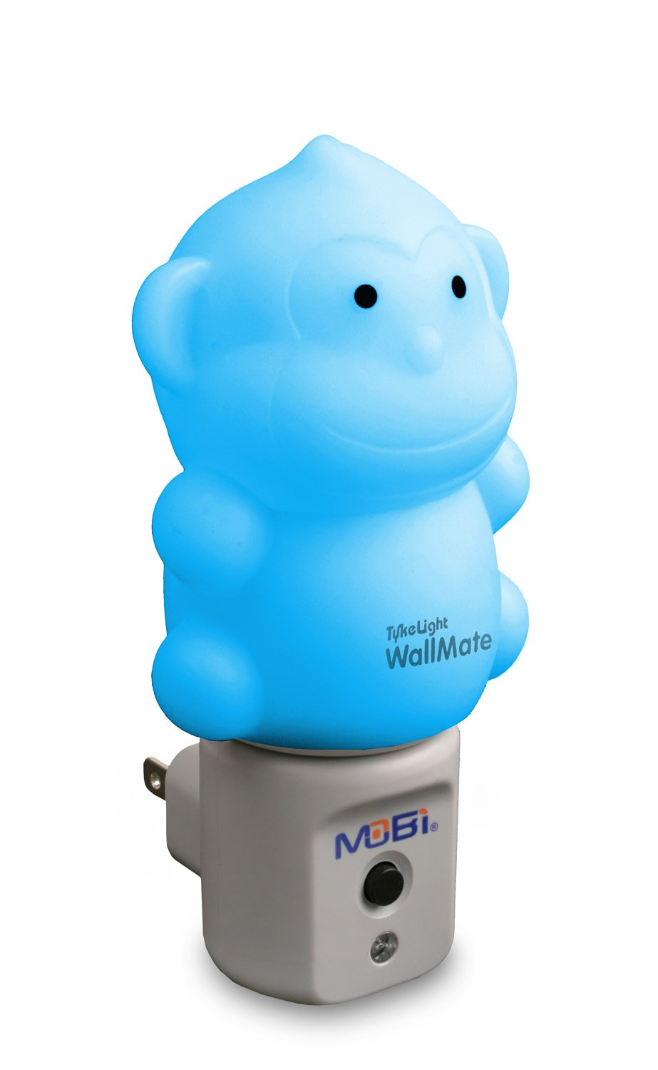 WallMate Cool LED Night Light for Kids, Toddlers & Sleeping Baby - Wall Plug-in Outlet (Hippo) 4