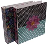 Emraw Sass & Class 3-Ring Binder 1.5-Inch – Used for Papers, Loose-Leafs, Business Cards, Compact Discs, Etc. (2-Pack)