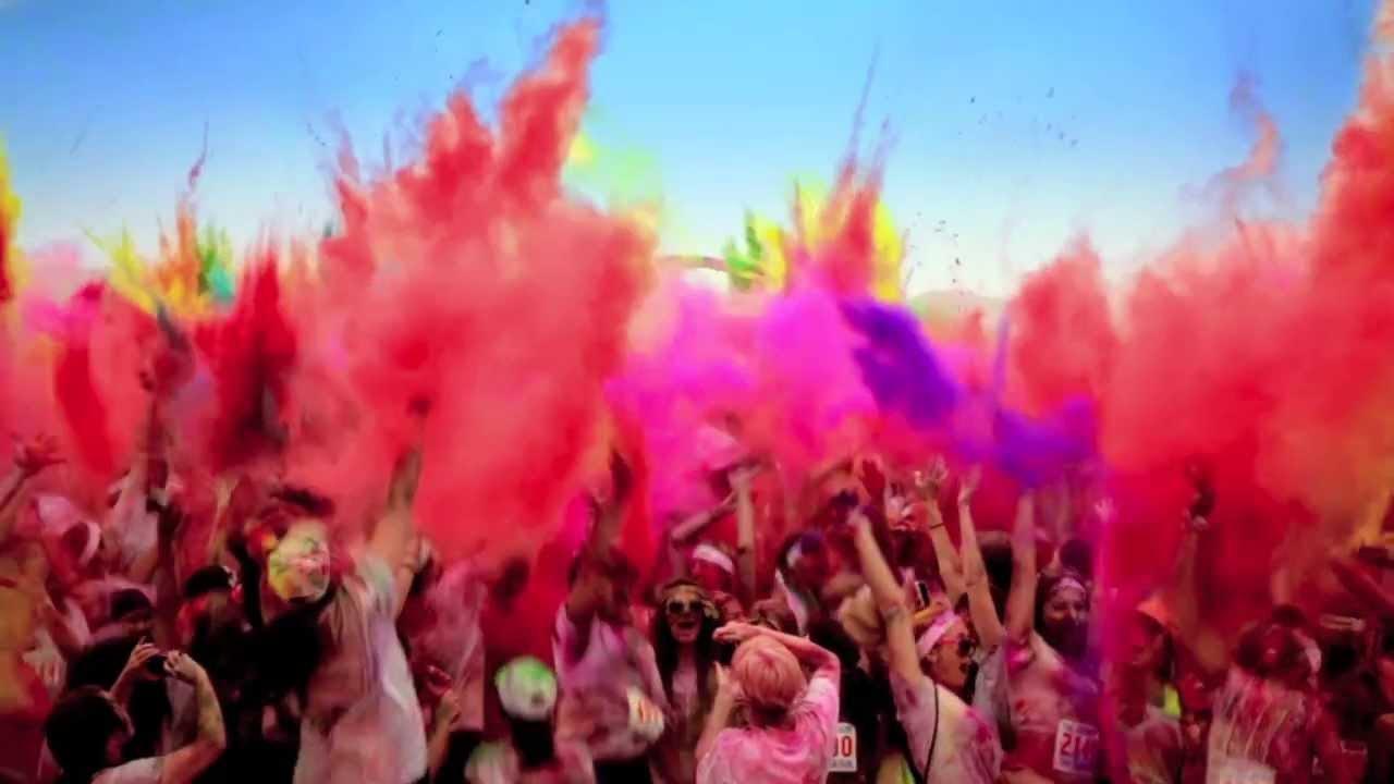 ColorMarathon Premium Quality Holi Color Powder - 2 Lb Bags - Red Color Gulal