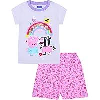 Pijama corto para niña con arco iris Zoey «Good Times»