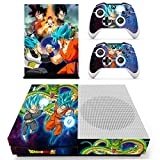 Vinyl Skin Sticker Cover Decal Faceplate Case for Xbox One S Slim + 2 Free Controller Skin