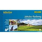 Jakobs-Radweg: Von den Pyrenäen nach Santiago de Campostela. Radtourenbuch 1:75 000 GPS-Tracks-Download, wetterfest/reißfest (Bikeline Radtourenbücher)